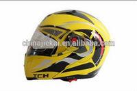 DOT certified vintage motorcycle helmet JK105 with double visor