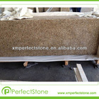 Prefab flat edge G682 granite counter top price for cheap granite vanity top
