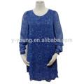 Dernières arrivée printemps manches longues mode robe style européen