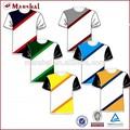 alta qualidade de transferência de calor impressão de treinamento personalizado poliéster azul e branco futebol uniforme