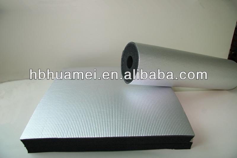 Aluminium Foil Construction Insulation Rubber Foam Materials