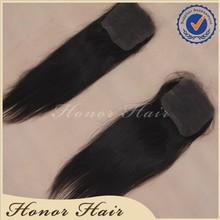 Unprocessed virgin brazilian remy raw hair closure