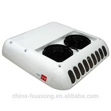 DC powered mini bus/car/van split air conditioner