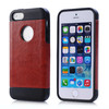 Good looking PU leather for iPhone 5S TPU case, for Apple iPhone 5 case in factory price