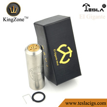 Hottest fashion max vapor electronic cigarette watchcig ss material EI Gigante on sale from kingzone