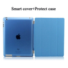 Ultra Slim Magnetic Leather Smart Cover For Ipad 2/3/4case , with Hard Back Case