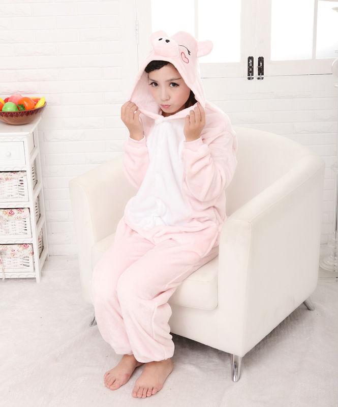 onesie roze konijn