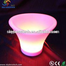 Waterproof plastic fruit trays/marble fruit bowl/LED lighting table