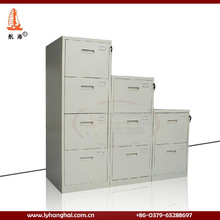 Oficina de luoyang 2/3/4 del cajón de metal muebles de metal tarjeta de índice de archivo gabinete de proveedor de oro