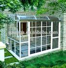 2014 hot sale aluminum glass winter garden sun house china manufacturer