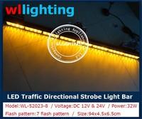 Car Truck Lights Amber Signal light 36'' Traffic Advisor LED Directional Bar Lights