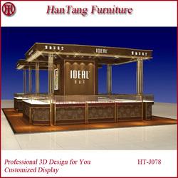 Bazaar usage jewelry store display furniture for sale with jewelry store furniture