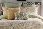 shanghai honour china supplier quilted bedspread blue