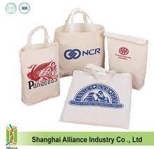 Reusable Recycled Cotton Canvas Tote/ Cotton Shopping Bag / Cotton Shopper