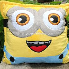 new style very popular cartoon finger printed cushion