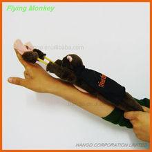 No. 1 Promotional Plush Slingshot Screaming Flying Monkey With Custom Cape