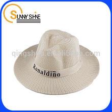 high quality custom cheap wholesale straw cowboy hat