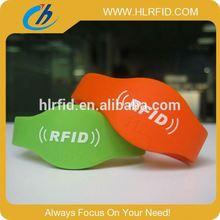 Adjustable Custom Waterproof Silicone Smart Wristband frabric pvc card wristband