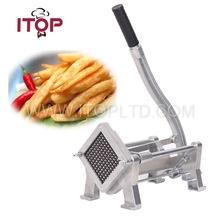 Commercial potato chipper