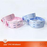 Disposable vinyl ID bracelets