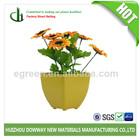 colorful garden tin flower pots/planter