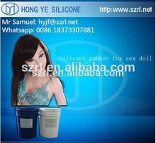 Silicon for artificial vagina and liquid silicone rubber