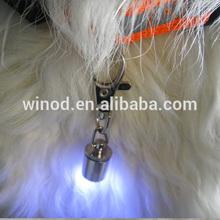 2014 best price Brass LED Pet /Dog Safety Light ID Tag