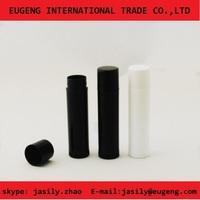 lip balm manufacturers black plastic lip balm tube