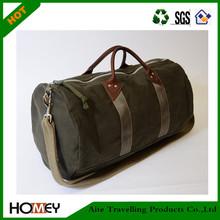 2014 Dongguan Homey Large capacity military canvas duffle bag
