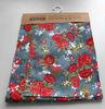 Cheap raw denim fabric Material Wholesale floral printed denim fabric