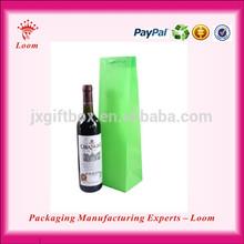 New non-woven wine bottle bag