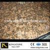 xiamen cheap Giallo Fiorito granite countertop slabs for kitchen