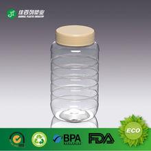 transparent empty honey pet bottle recycling