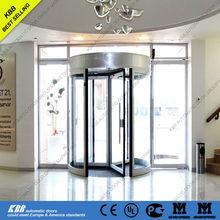 Mexico Novotel hotel, manual revolving door, UL CE ISO9001 certificate