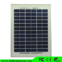 (2014 China OEM)5w 18v poly solar panel from fullbright solar