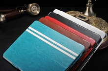 2014 hot sell genuine leather 7 inch tablet case Ipad2 ,3 ,4 ,5 cover holder