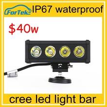 12 volt LED Light Bar off road 4x4 car IP 67 water proof 40w led light bar