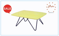 best seller modern Glass coffee table with high gloss top PCT14135