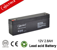 sealed lead acid MF 12v 2.8ah battery