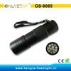 GS-8085 395nm pet urine detector 12 uv flashlight