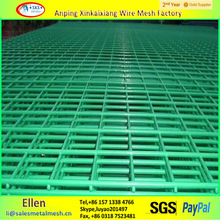 PVC welded wire mesh fence panel/welded wire mesh panel made in China(manufacturer)