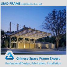 Outdoor Waterproof Large Metal Roof Steel Frame Car Canopy