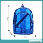 2014 hot selling colorful plastic backpacks clear plastic backpacks