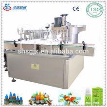 Automatic E-liquid /E-cigarette/ Essential Oil filling machine and capping labeling