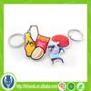 promotional key chain 3D pvc custom rubber keychains