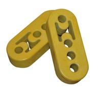 Universal Polyurethane bushings 4 Holes Exhaust Muffler Hanger rubber