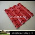 Cor revestido galvanizado telhado sheetkerala limpar plástico corrugado telhado folhas