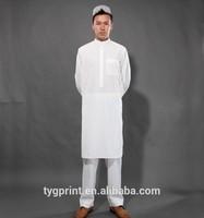 2015 Islamic Clothing Saudi Arab style thobe for man Arabian robes for man kaftans for men