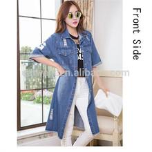 DJ213681 New Design Apparel For Woman Jeans Jacket In 2014/fashionable Lady Denim Jean Jacket