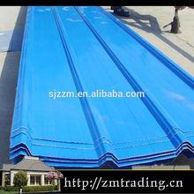 Transparente ondulée toiture feuilles par feuilles de tôle ondulée tôle de toiture